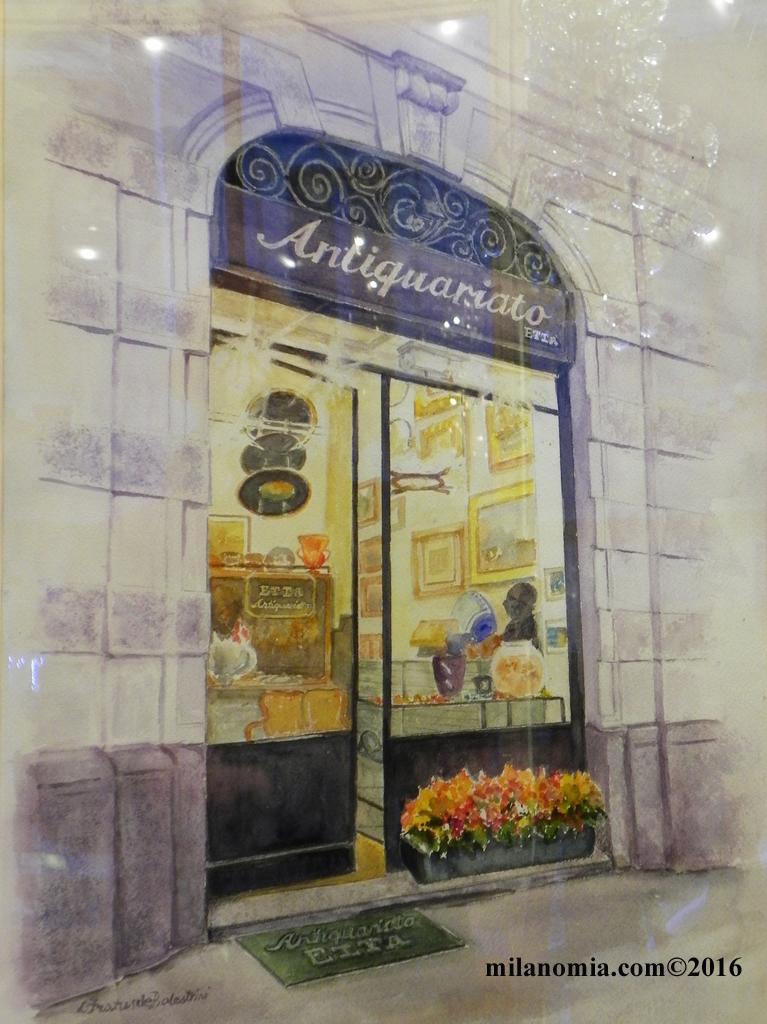 Antiquariato Etta Milano antichità